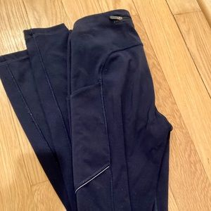 Navy lululemon leggings
